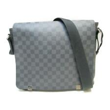 LOUIS VUITTON District PM Damier Graphite Canvas Shoulder Messenger Bag N41028