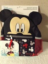 Disney Baby Harness Backpack Mickey Mouse Toddler New