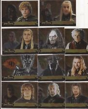 The Lord of the Rings Topps Evolution Trading Cards Lot of 11