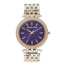 Michael Kors Watches MK3353 Darci Purple & Two Tone Stainless Steel Ladies Watch