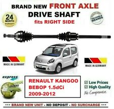 FOR RENAULT KANGOO BEBOP 1.5dCi 2009-2012 BRAND NEW FRONT AXLE RIGHT DRIVESHAFT