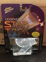 Johnny Lightning Legends of Star Trek Romulan Bird of Prey Cloak Series 3