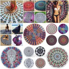Mandala Bohème Tapis De Yoga Hippie Tenture Murale Beach Serviette Tapisserie DD