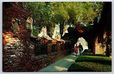 7th Street Mission Inn Orange Street in Riverside, California Postcard Unused
