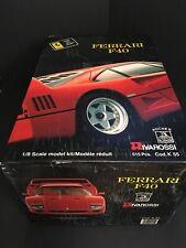 Unused/New - Pocher Rivarossi 1:8 Red Ferrari F40 K55 Model Kit Car Rare