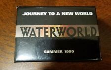 Waterworld pin button/badge - Kevin Costner