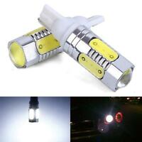 2x T10 High Power LED Bulbs Side Mark Parking Light Projector W5W 7.5 For Car
