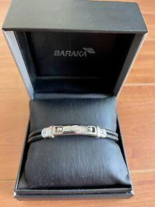 BARAKA BRACELET Man's 18 KT White Gold 750 barakà bracelet