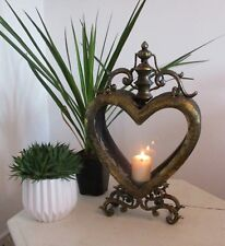 Stunning Quality Unique Moroccan Antique Heart Candle Lantern Unique Lovely