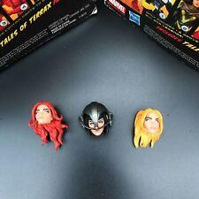 "Marvel Legends X-Men Stepford Cuckoos 3 Heads For 6"" Loose Action Figure"