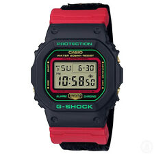 Casio G-Shock Special Colour Editon Cloth Band Watch GShock DW-5600THC-1