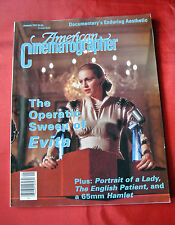 Madonna Evita American Cinematographer January 1997 Movie Magazine