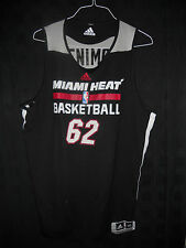 #62 Jerrelle Benimon Miami Heat Game Used Summer League Jersey Summer Of 2014