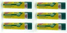 6 Carmex Wintergreen Moisturizing Lip Balm SPF 15 Sealed FREE SHIPPING