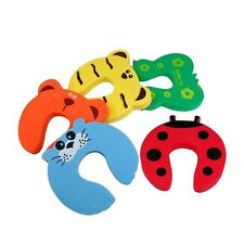 5PCS Cute Animal Door Stopper Jammer Safety Finger Protector Guard For Kids Baby