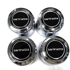 "Camaro Berlinetta 14"" Wheel Center Cap Silver Letters Set of 4 CM309SET"