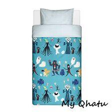 Ikea Lattjo Duvet Cover & Pillowcase Set Robot Twin Bed Kids Bedding NEW