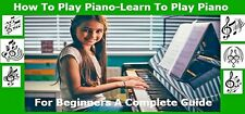 Playing Piano For Beginners PDF ebook Free Shipping with Master Resell Rights