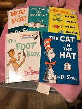 A lot of Five Dr. Seuss books in good condition