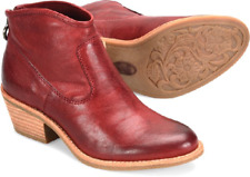 NIB Sofft Women's Aisley Bootie in Rosso Red