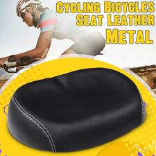 US Comfort Extra Wide Big Bum Bicycle Cycling Cruiser Bike Saddle Soft Pad Seat