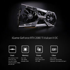 Colorful iGame GeForce RTX 2080Ti Graphic Card Vulcan X OC GDDR6 11G 352bit H0K3