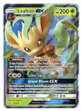 Leafeon GX 13/156 - Ultra Rare - Pokemon Sun & Moon: Ultra Prism