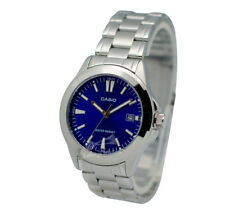-Casio MTP1215A-2A2 Men's Metal Fashion Watch Brand New & 100% Authentic
