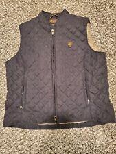 Women's Black ARIAT Vest Size Large