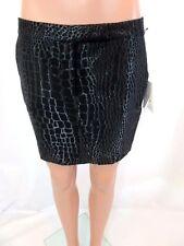 """DION LEE Black """"Jaquard"""" Mini Skirt Sz 6 NWT"""