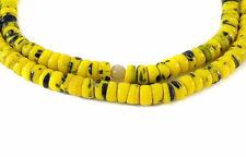 Kancamba Bohemian Trade Beads Yellow Green Africa