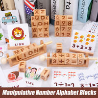 English Spelling Alphabet Letter Game Mathematics Early Educational Toy Kids