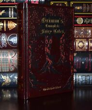 The Brothers Grimm Complete Grimm's Fairy Tales Hardcover Leather Bound Edition