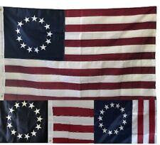 Los vientos alisios 3x5 Bordado Betsy Ross Usa American 240D 5x3 bandera de nylon Cosido
