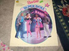 Uncut Barbie Paper Doll 4 set 1994 EXCELLENT CONDITION Ken Too friends 4 dolls