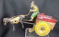 Rare Strauss Jenny The Balky Mule Wind Up Toy Early Version