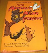 The Animals Noah Forgot -AB Patterson Norman Lindsay 1979
