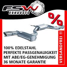 FSW Sport Auspuffanlage komplett ab Kat VW Golf V GTI inkl Edition Sportsline 76