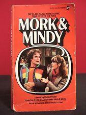 Mork & Mindy VIntage First Printing 1979 TV Novel w/ Photos Robin Williams