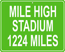 Denver Broncos Mile Hgh Stadium in Denver, CO- distance to your house