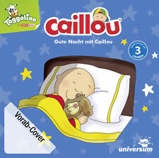 Caillou - Gute Nacht mit Caillou - Hörbuch / Hörspiel - CD - *NEU*