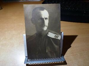 1930 RUSSIAN PHOTO PC COSSACK ATAMAN GENERAL NAUMENKO