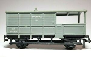 Hornby Dublo Meccano Model Railway 16 Ton Toad Brake Van W56421 OO Scale 2 rail