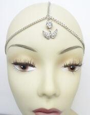 New Trendy Angel Wing Head Chain Headband Hair Jewelry with Rhinestones #HC1