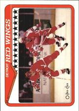 1990-91 O-Pee-Chee Red Wings Hockey Card #133 Team