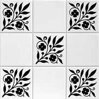 bathroom tile decals 4x4 tile transfers stickers for shower bathroom or kitchen 16736