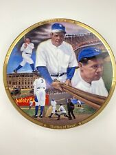 """Vtg 1992 Babe Ruth """"Sultan of Swat"""" 8 1/2"""" L. Edition Plate Sports Impression"""