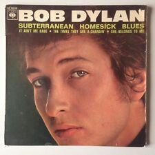 RARE DISQUE 45T BOB DYLAN SUBTERRANEAN HOMESICK BLUES