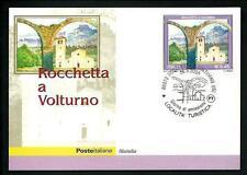 Rocchetta a Volturno ( Isernia ) - Cartolina Filat.Ufficiale Poste Italiane 2005