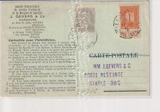 Oude Postkaart CPA Baarle-Hertog Filatelie 1915
